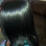 Tissage cheveux noirs